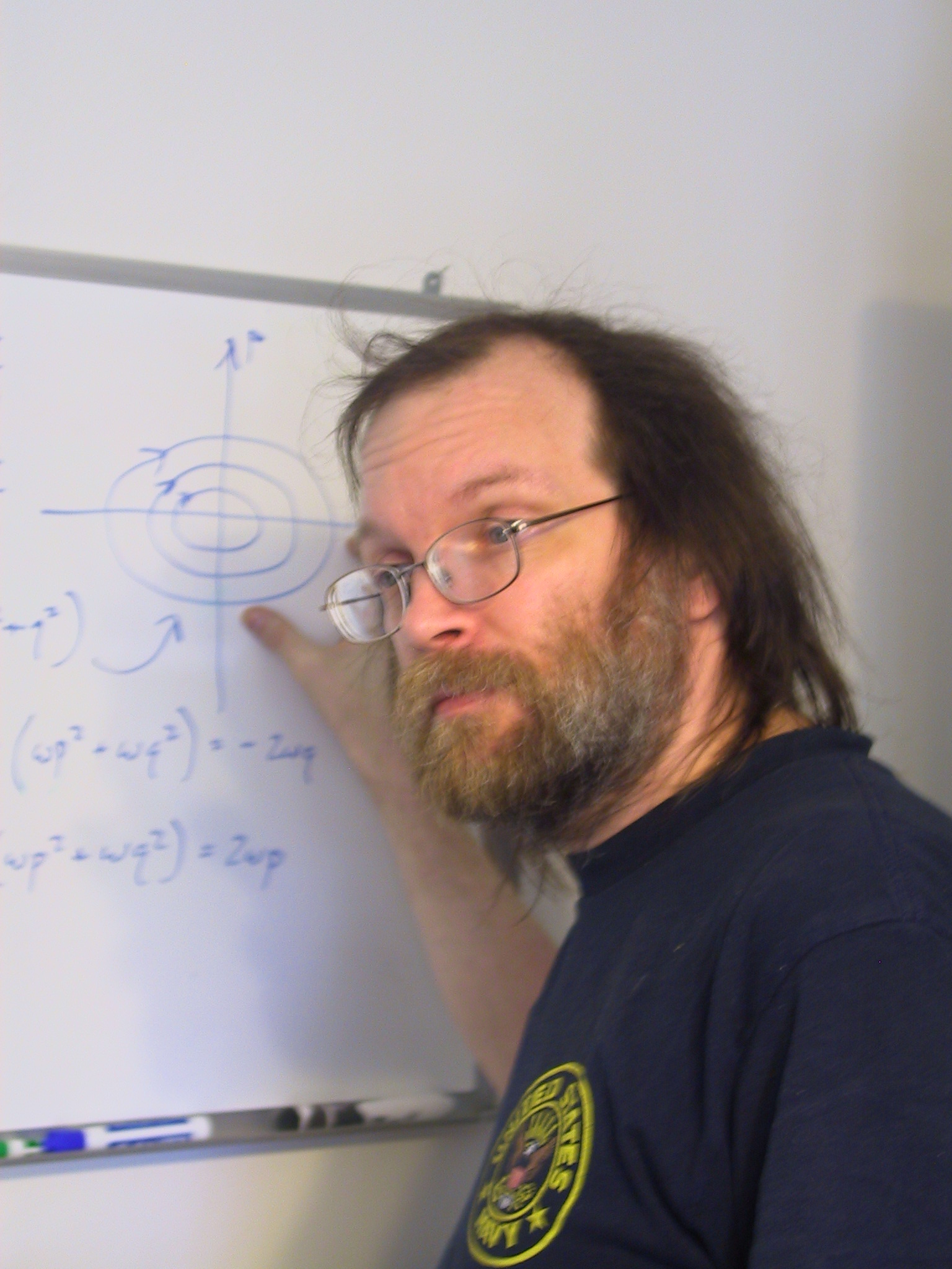 George Hrabovsky, co-author of The Theoretical Minimum