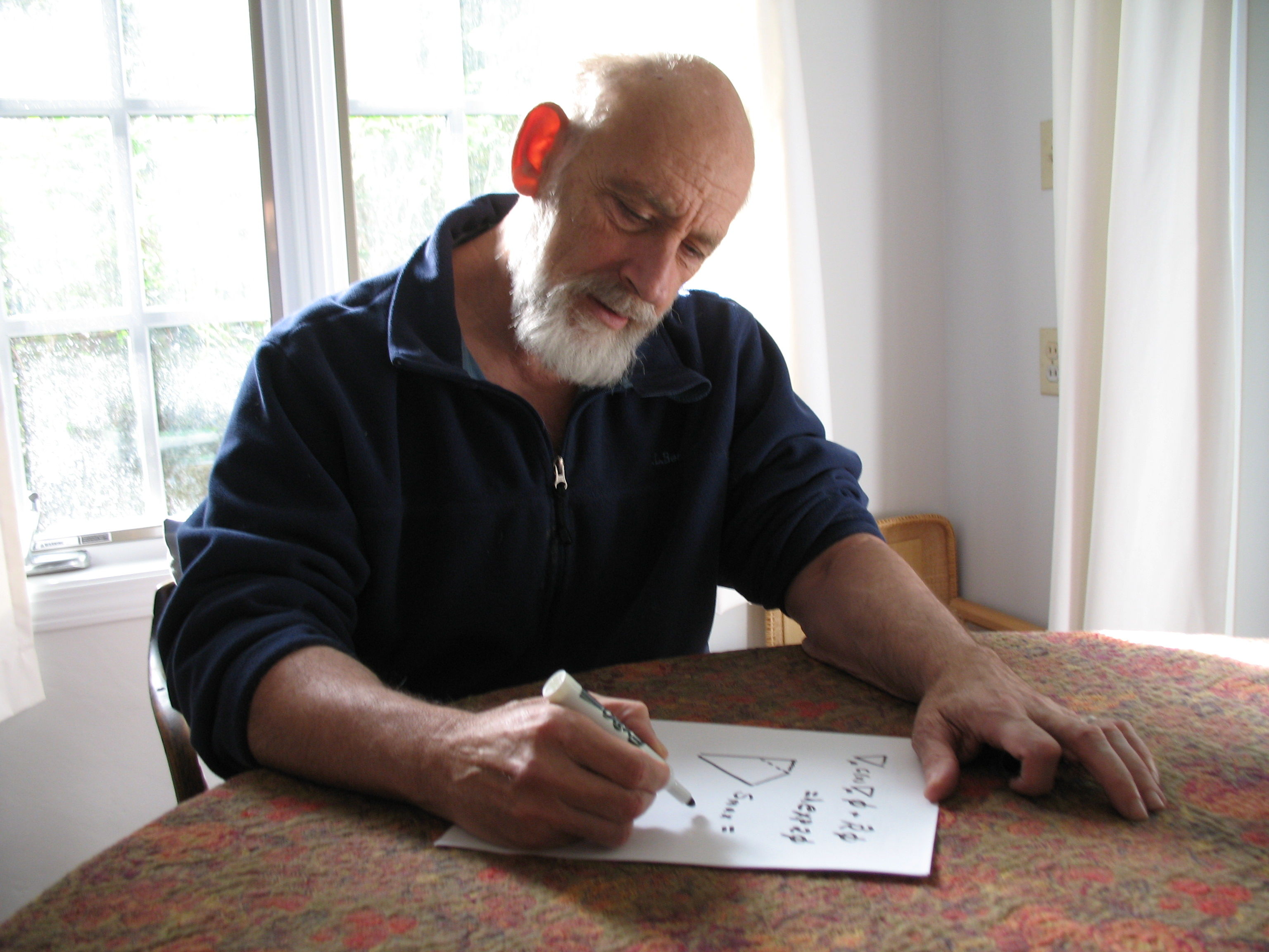Leonard Susskind, co-author of The Theoretical Minimum